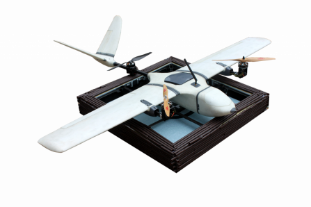 Heisha drone charging pad  customized for fixed wing- survey