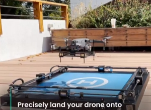 HEISHA DPad is helping a pilot-free drone flight mission in Chile