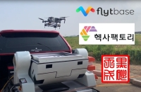 HEISHA DNEST, FlytBase, and Hexafactory performed a precision landing of autonomous drone on a vehicle