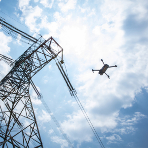 drone inspection for powerline