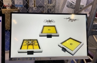 HEISHA indoor drone charging pad for warehouse data collection
